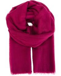 Bufanda rosa de Salvatore Ferragamo