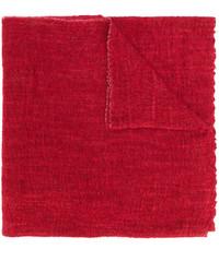 Bufanda tejida roja de Faliero Sarti