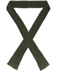 Bufanda Verde Oliva de Maison Margiela