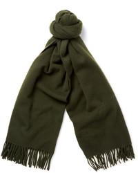 Bufanda verde oscuro