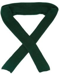 Bufanda verde oscuro de Cédric Charlier