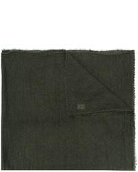 Bufanda verde oscuro de Faliero Sarti