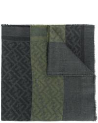 Bufanda verde oscuro de Fendi