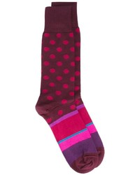 Calcetines a lunares morado de Paul Smith