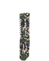 Calcetines de camuflaje en multicolor de Off-White