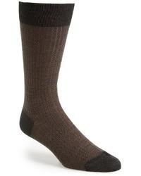 Calcetines de lana en gris oscuro