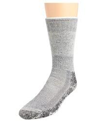 Calcetines de lana grises