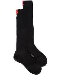 Calcetines de lana negros de Thom Browne