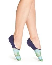 Calcetines de tartán azules