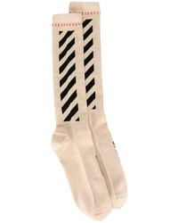 Calcetines dorados de Off-White