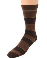 Calcetines en marrón oscuro