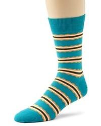 Calcetines en verde azulado