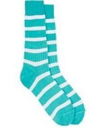 Calcetines en verde menta