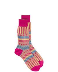 Calcetines estampados rosa de Ayame