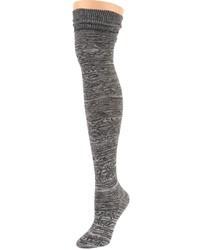 Calcetines hasta la rodilla en gris oscuro