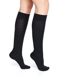 Calcetines Hasta la Rodilla Negros de Falke