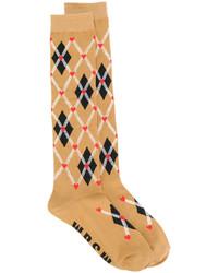 Calcetines marrón claro de MSGM