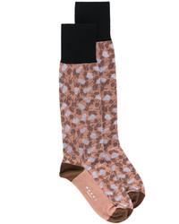 Calcetines marrónes de Marni