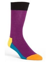 Calcetines morado