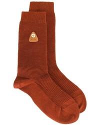 Calcetines rojos de Folk