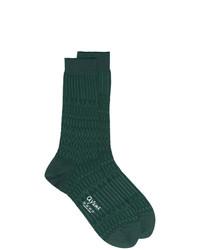 Calcetines verde oscuro de Ayame