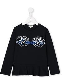 Camisa azul marino de Kenzo