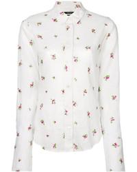 Camisa bordada blanca de Isabel Marant