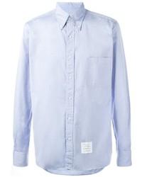 Camisa celeste de Thom Browne