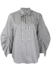 Camisa con adornos gris de Toga Pulla