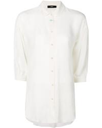 Camisa de encaje blanca de Diesel
