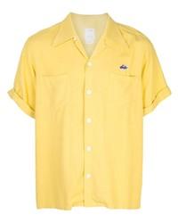 Camisa de manga corta amarilla de VISVIM