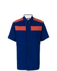 Camisa de manga corta azul marino de Calvin Klein 205W39nyc