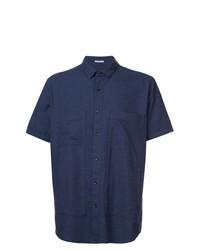 Camisa de manga corta azul marino de Homecore
