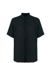 Camisa de manga corta azul marino de Natural Selection