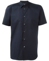 Camisa de manga corta azul marino de Paul Smith