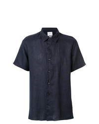 Camisa de manga corta azul marino de Ps By Paul Smith