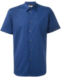Camisa de manga corta azul de Paul Smith