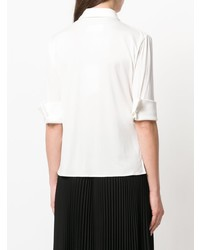Camisa de manga corta blanca de MM6 MAISON MARGIELA