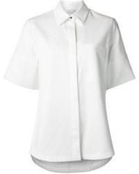 Camisa de manga corta blanca de Proenza Schouler