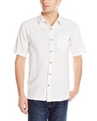Camisa de Manga Corta de Lino Blanca de Jack O'Neill