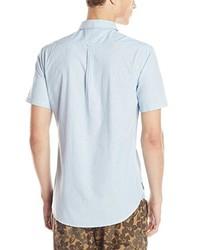 Camisa de manga corta en verde menta de Billabong