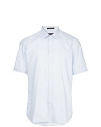 Camisa de manga corta estampada celeste de D'urban