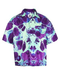 Camisa de manga corta estampada en multicolor de Domenico Formichetti