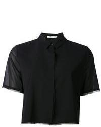 Camisa de manga corta negra de Alexander Wang