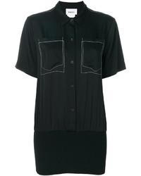 Camisa de manga corta negra de DKNY