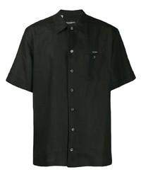 Camisa de manga corta negra de Dolce & Gabbana