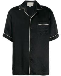 Camisa de manga corta negra de Gucci