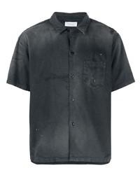 Camisa de manga corta negra de John Elliott