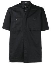 Camisa de manga corta negra de Ktz