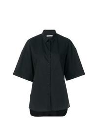 Camisa de manga corta negra de Lareida